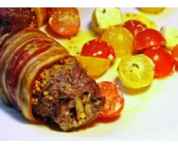 Рецепт                  Рулеты из говядины