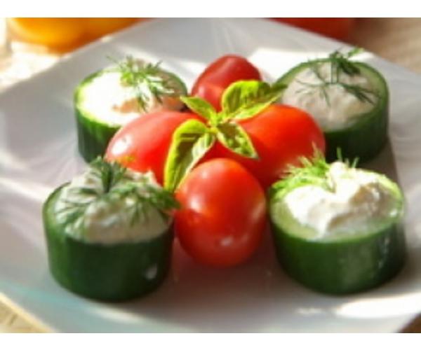 Рецепт                  Овощная башня