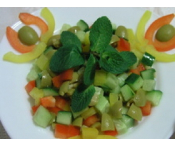 Рецепт                  Салат «Алжирский»
