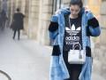 Street style: 10 ярких зимних образов из Парижа