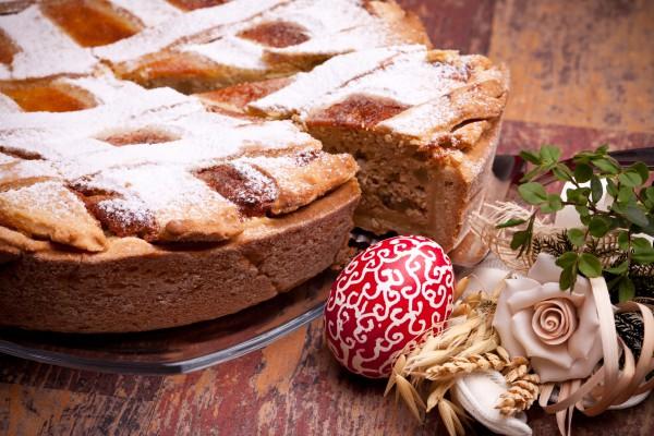 Рецепт                  Неаполитанский пасхальный пирог