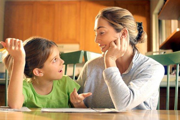 С гиперактивным ребенком заниматься лучше утром