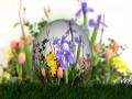 Как украсить пасхальные яйца: 25 идей с цветочным узором