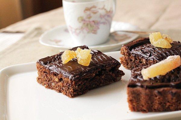 Рецепт                  Кофейные брауни с орехами
