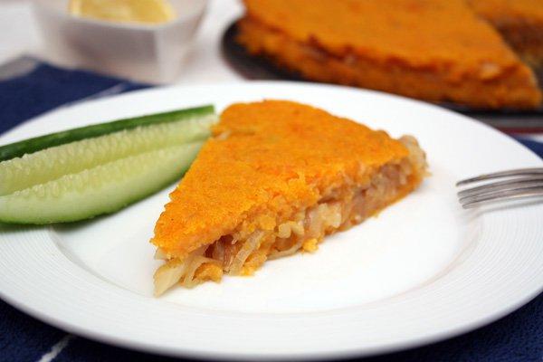 Рецепт                  Тыквенно-картофельная запеканка