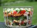 Слоеный пасхальный салат