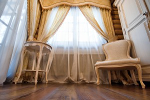 Ремонт за 15 минут: стильные шторы