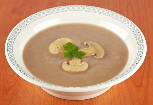 Рецепт                  Грибной крем-суп от Джейми Оливера