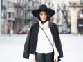 Черно-белая зима: 5 вдохновляющих луков от блогеров