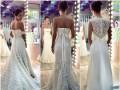 Яна Станишевская выбирает свадебное платье для церемонии