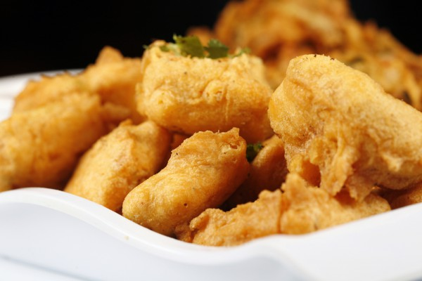 Рецепт                  Жареные овощи в кляре