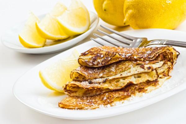 Рецепт                  Масленица 2015: Лимонные блины