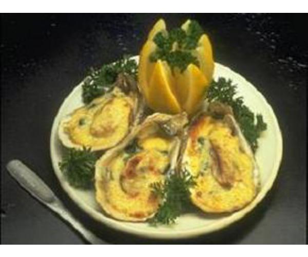 Рецепт                  Устрицы под сыром