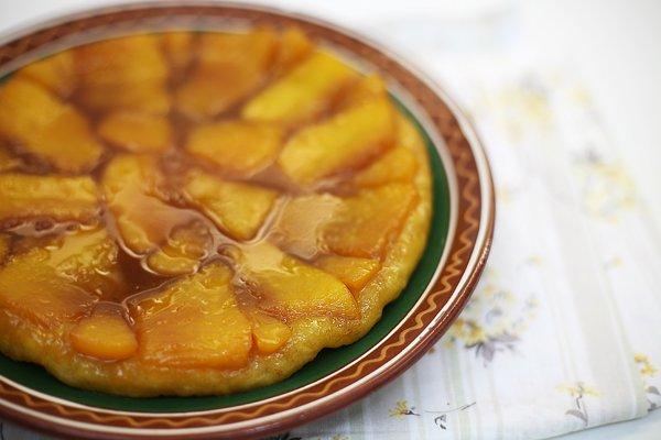 Рецепт                  Тыквенный татэн с апельсином