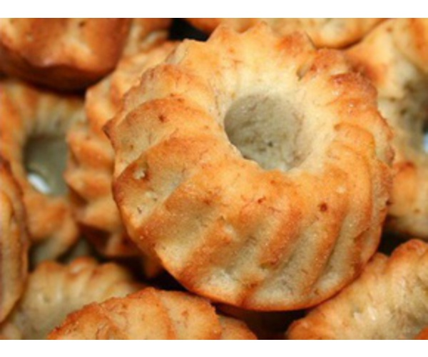 Рецепт                  Банановые кексы