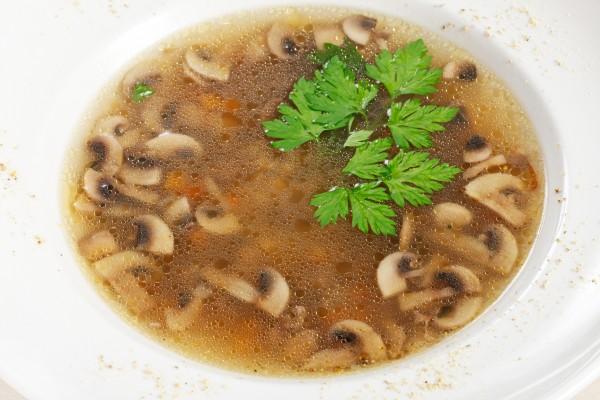 Рецепт                  Великий пост 2015: Грибной суп из шампиньонов