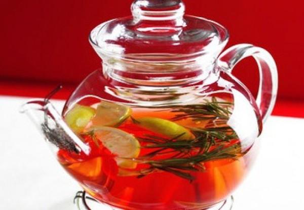 Рецепт                  Чай с лимоном, розмарином и имбирем