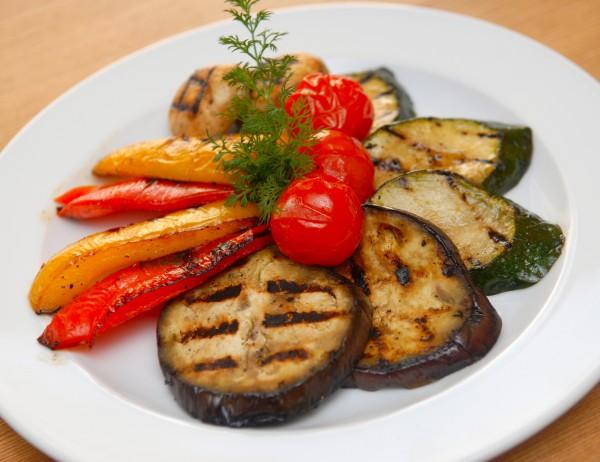 Рецепт                  Запеченные овощи на гриле