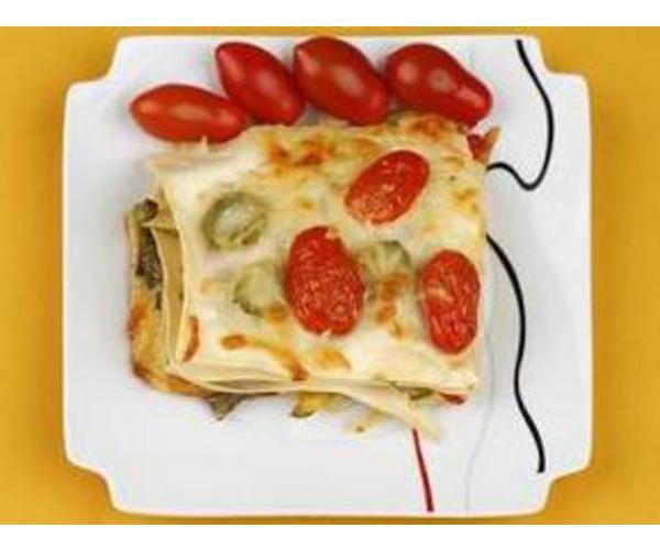 Рецепт                  Лазанья с овощами