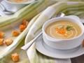 Сырный суп с рисом и куриным филе