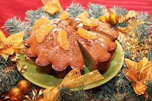 Приготовь зимнюю шарлотку с мандаринами!