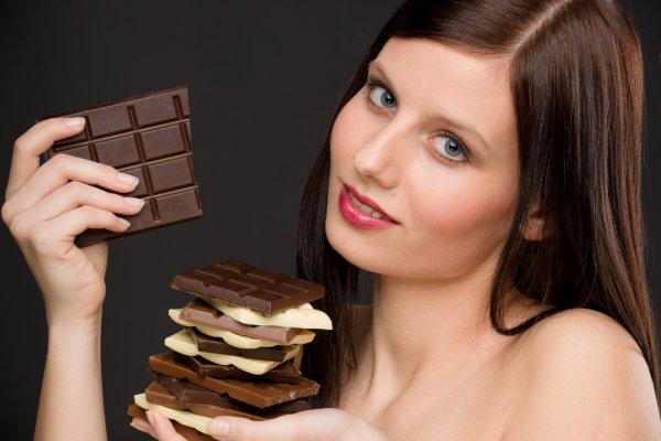 Эпикатехин, который содержится в темном шоколаде, стимулирует рост мышц