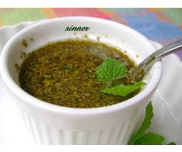 Рецепт                  Мятный соус