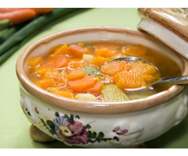 Рецепт                  Суп овощной с тыквой