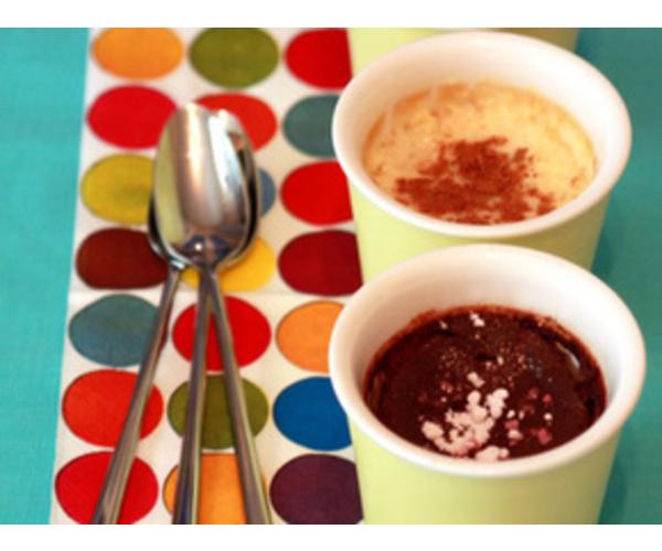 Рецепт                  Шоколадно-ванильный десерт