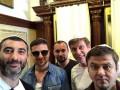 Квартал 95 в Израиле: флаг Украины от фанатов и встреча с Патриархом