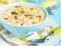 Суп с беконом и кукурузой