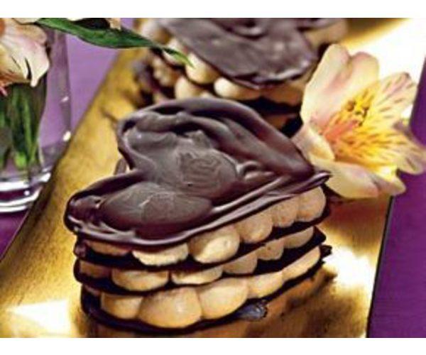 Рецепт                  Печенье со сливочным муссом