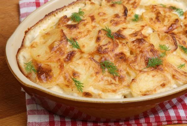 Рецепт                  Запеченный картофель Анна