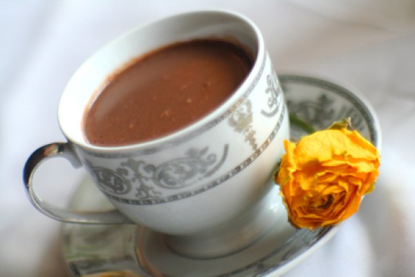 Рецепт                  Горячий шоколад с корицей