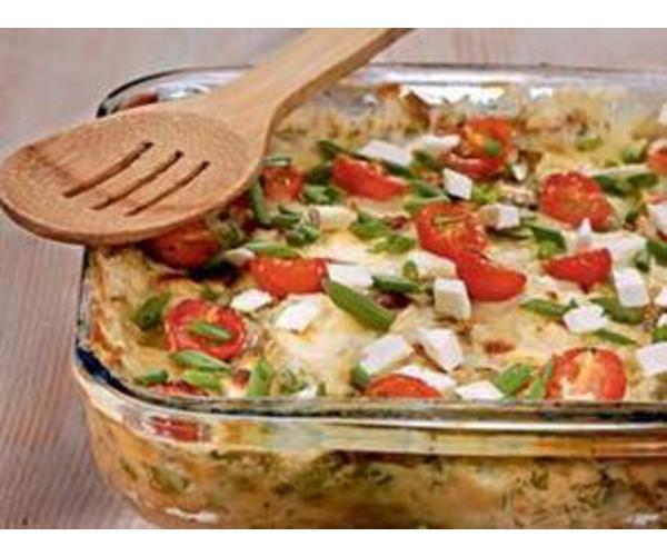 Рецепт                  Закусочный пирог из огородной зелени