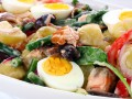 Зимний салат Нисуаз