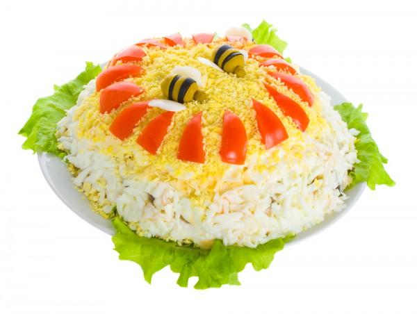 Рецепты салатов на новый год с фото цезарь