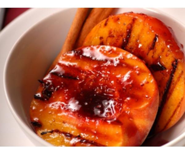 Рецепт                  Персики на гриле