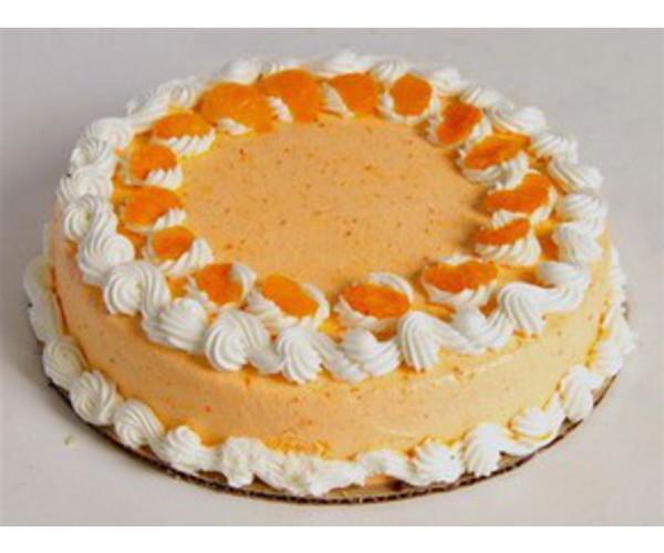 Рецепт                  Апельсиновый торт-мусс