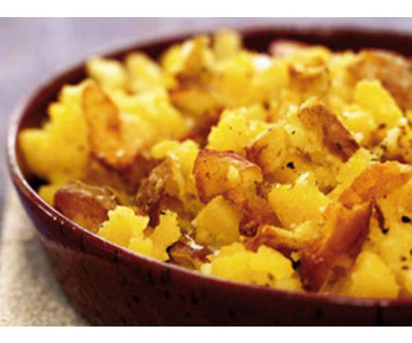 Рецепт                  Брюква с картофелем