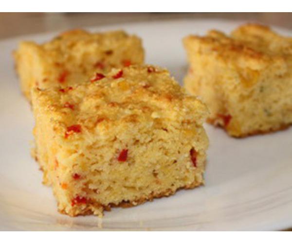 Рецепт                  Кукурузный хлеб с чили