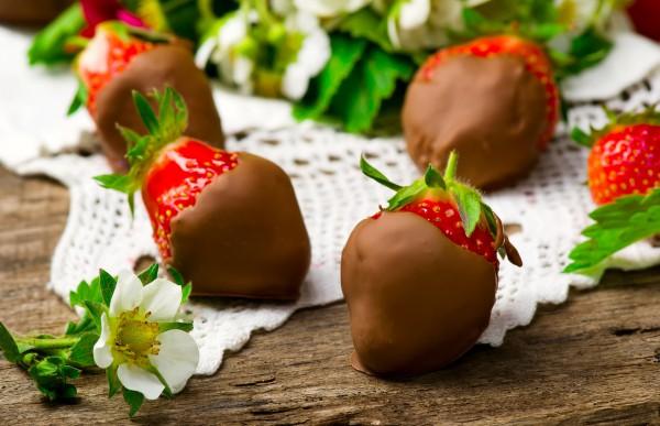 Рецепт                  Клубника в шоколаде