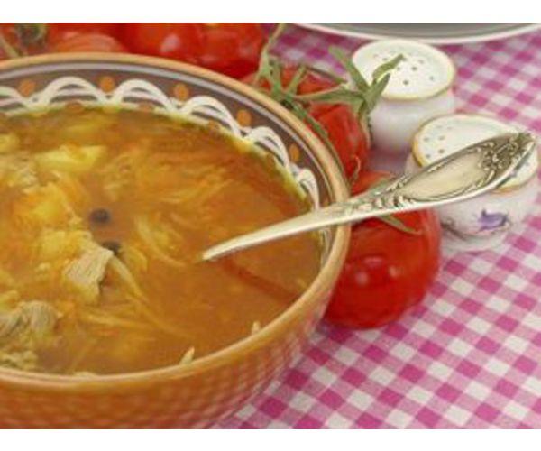 Рецепт                  Легкий куриный суп