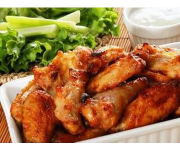 Рецепт                  Куриные крылышки в медово-горчичном соусе