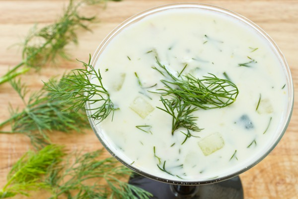 Рецепт                  Холодный огуречный суп с картофелем