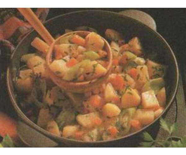 Рецепт                  Картофель с говядиной