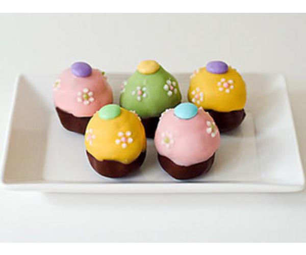 Рецепт                  Трюфельные пасхальные яйца