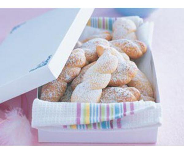 Рецепт                  Греческое пасхальное печенье