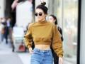Звездный пример: как носить mom-джинсы в стиле Кендалл Дженнер
