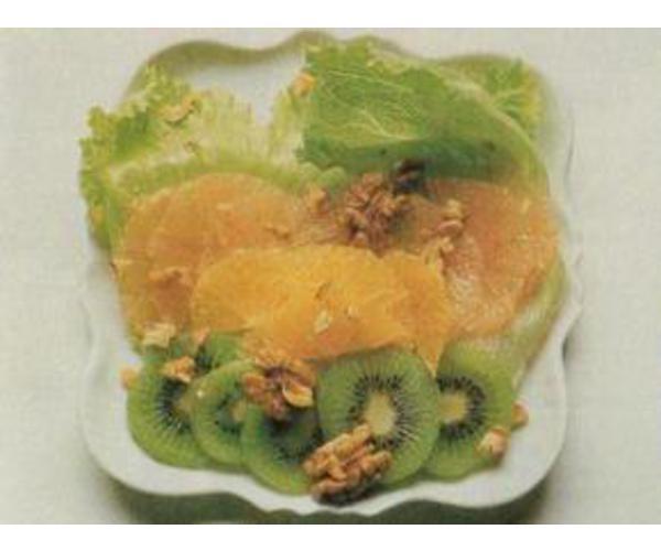 Рецепт                  Ис-салат с фруктами